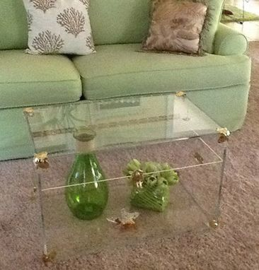 Custom Made Acrylic Storage Chest