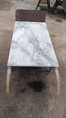 Custom Made Vermont Marble Factory Coffee Table