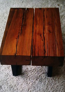 Custom Made Timber Modern End Table