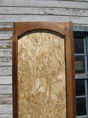Custom Made Bookcase Osb With Hardwood Face Frame