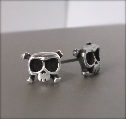 Custom Made Baby Skull Louie Earrings