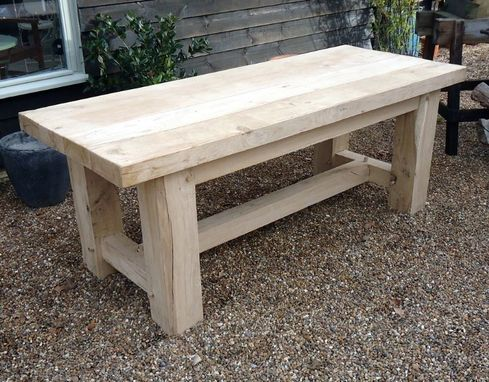 Custom Made Tables And Benches