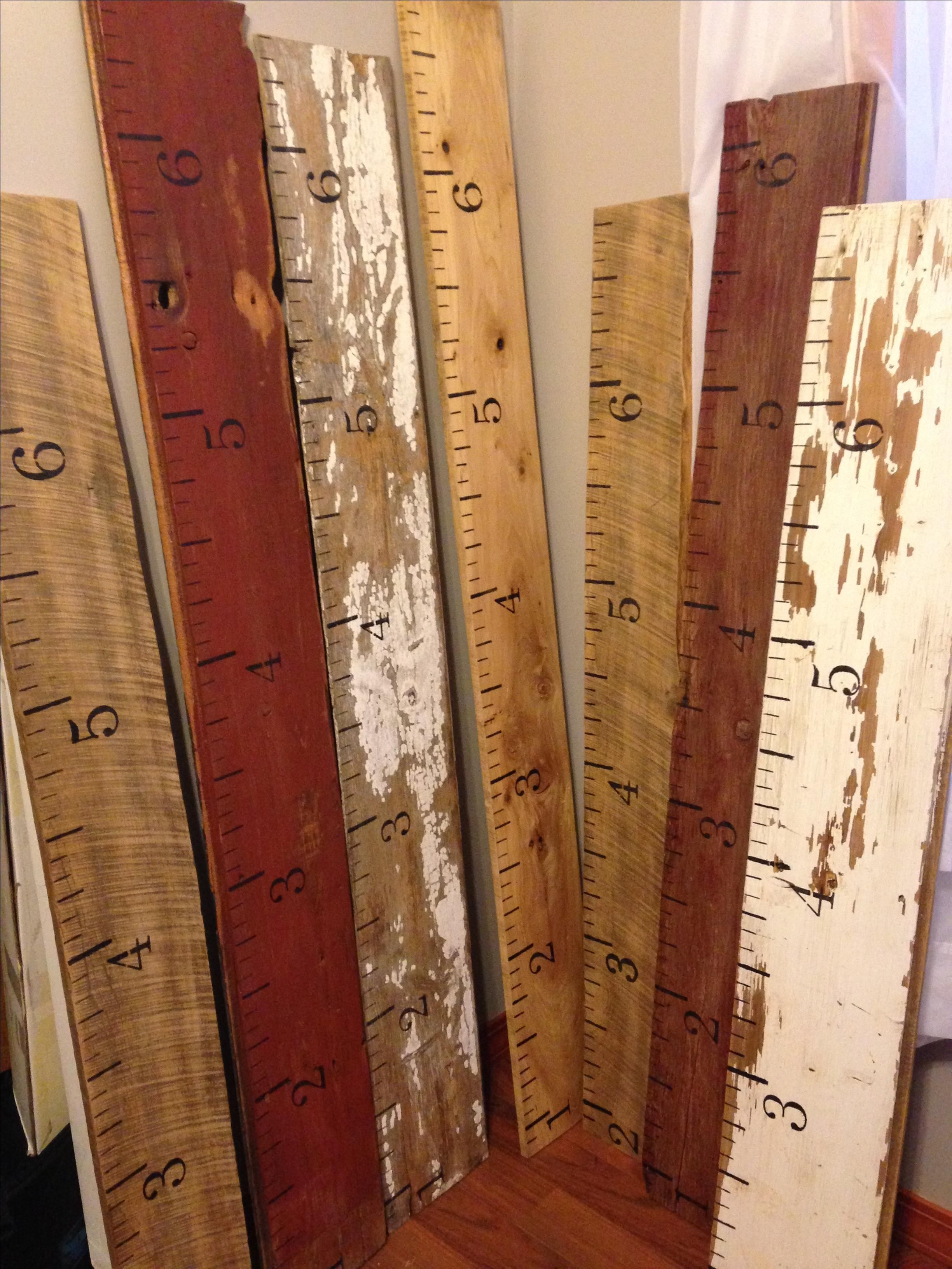 Hand crafted growth chart ruler yard stick salvaged barn wood custom made growth chart ruler yard stick salvaged barn wood siding lumber geenschuldenfo Choice Image