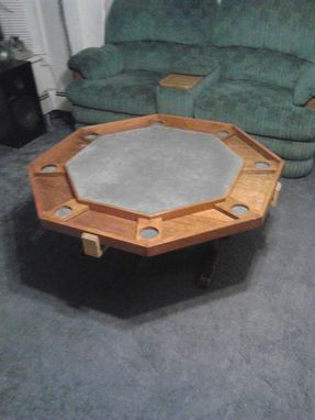 Custom Made Card / Coffee Table - Reversible