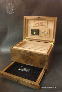 Custom Made Custom Humidor With Free Shipping