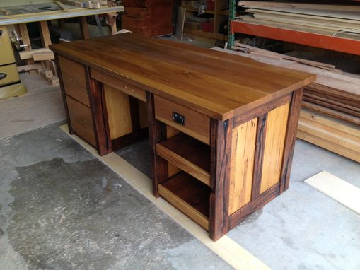 Custom Made Hickory Desk