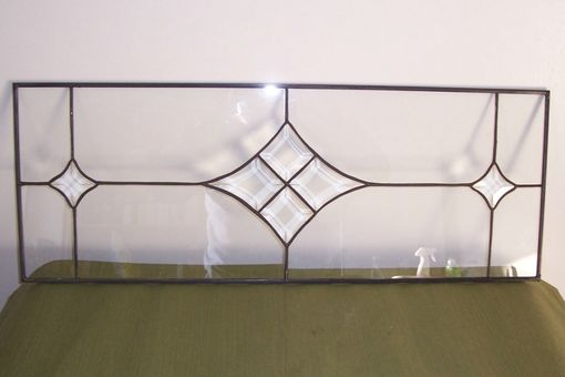 Custom Made Simple Beveled Transom  (Tw-8)