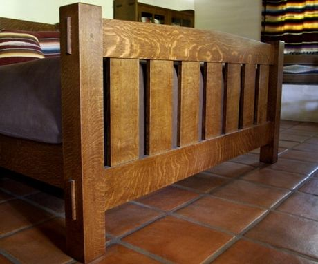 Custom Made Early G Stickley Bed