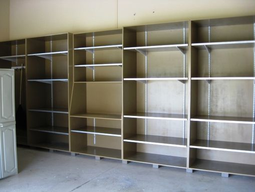 Custom Made Garage Storage Cabinets