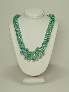 Custom Made Sea Green Kumihimo Necklace
