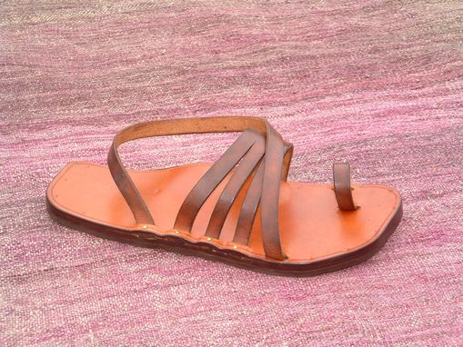 Custom Made Sling Triple Sandal