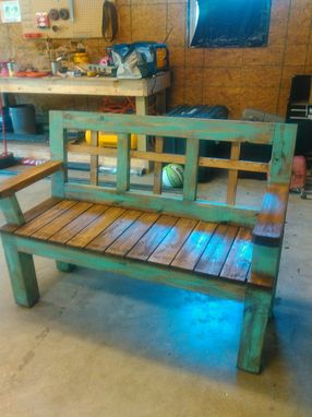 Custom Made Treated Pine Bench