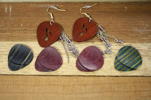 Custom Made Music Lover's Earrings
