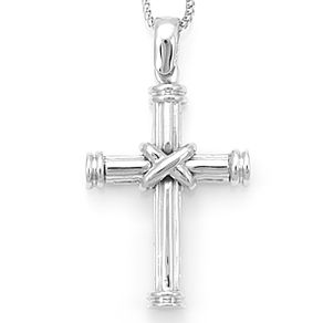 Custom religious necklaces and pendants custommade 14k solid gold cross pendant with chain religious necklace cross necklace aloadofball Images