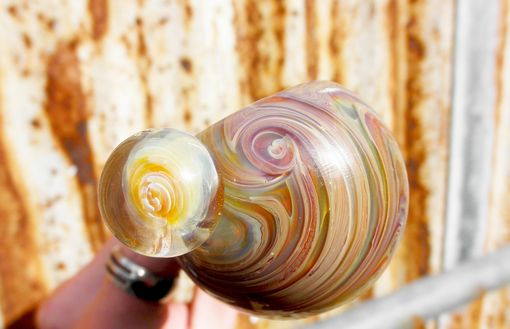Custom Made Double Bowl And Doughnut Glass Pipes