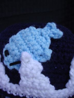 Custom Made Whale Hat