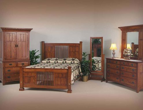 Custom Made Mission Bedroom Furniture