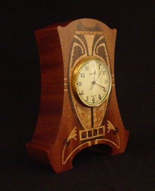 Custom Made Art Nouveau Clock