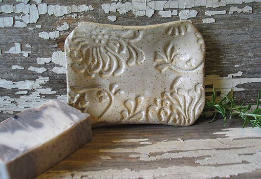Custom Made Pottery Soap Dish - Handmade Soap Dish - Various Patterns/Glazes