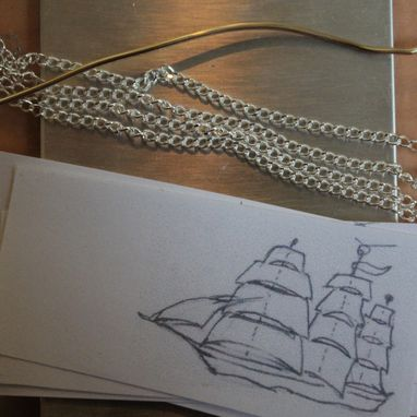 Custom Made Cutty Sark Pendant