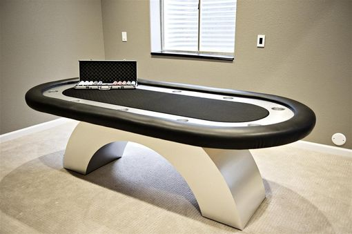 Custom Made Viper Pool Table And Poker Table