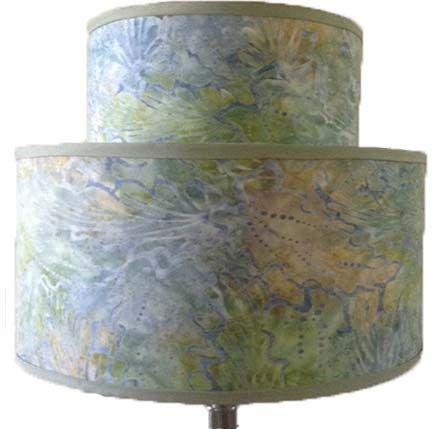 Handmade custom double lamp shades by mr jacks unlimited custom made custom double lamp shades aloadofball Choice Image