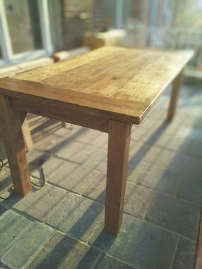 Custom Made Reclaimed Farm Table