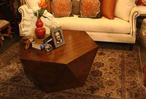Custom Made Geo Coffee Table