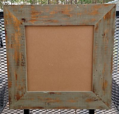 Custom Made Rustic Mirror/Picture Frame