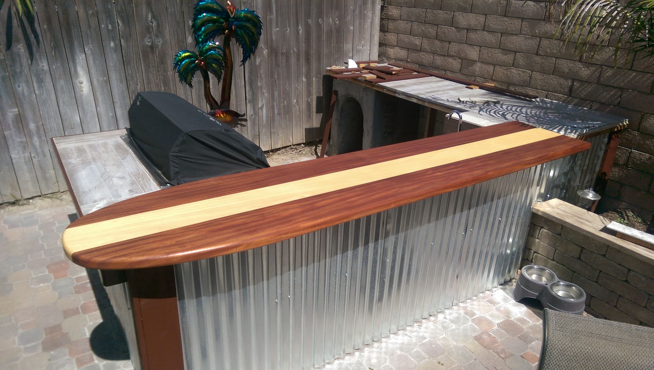 Custom Made Classic Surfboard Bar Top by Harbour Millwork ...