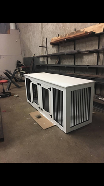 Custom Made Dog Crate,Media Center,Entry Way,Console