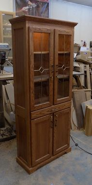 Custom Made Hutch/Display Cabinet