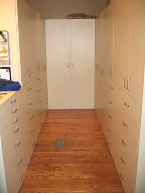 Custom Made Slick Walk-In Closet