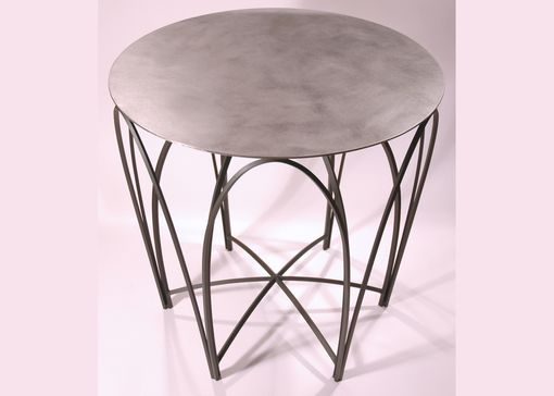 Custom Made Large Round Display Table