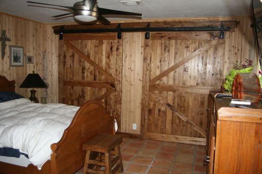 Custom Made Rustic Sliding Doors