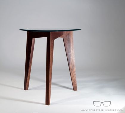 Custom Made Sevin St - Custom Walnut Side Table