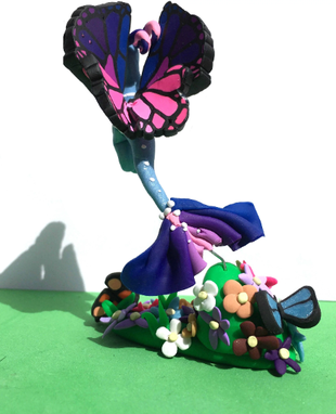 Custom Made Fairy Dragon Figurine