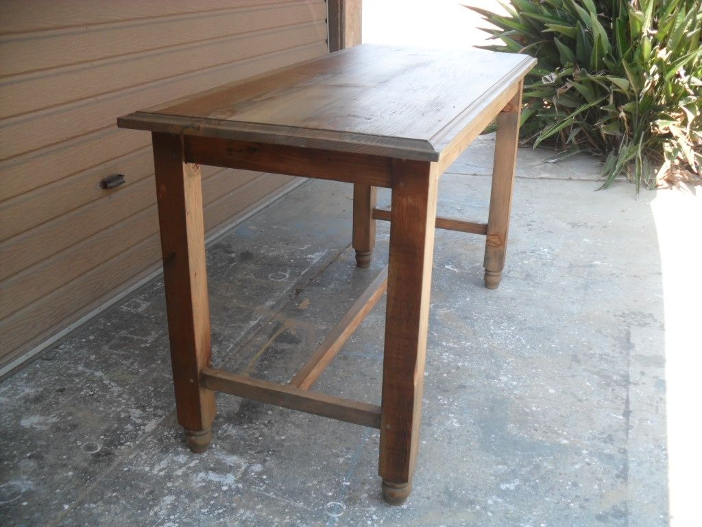 Hand Crafted Reclaimed Wood Gathering Table Custom Made In The Usa From By Oldpine Custommade