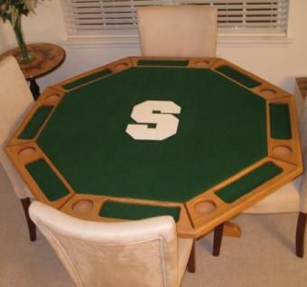 Custom Made Theme-Style 8 Player Poker Table