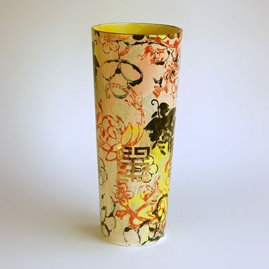 Custom Made Lotus Garden Vase
