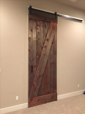 Hand Made Reclaimed Sliding Barn Door 10 Feet Tall By