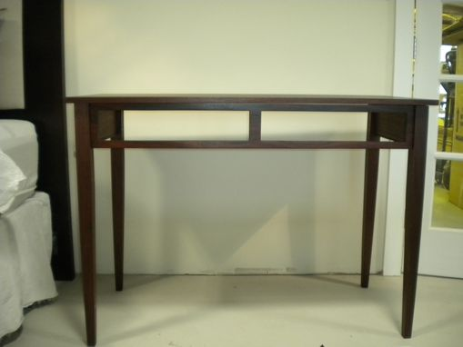 Custom Made African Mahogany Marlene Desk