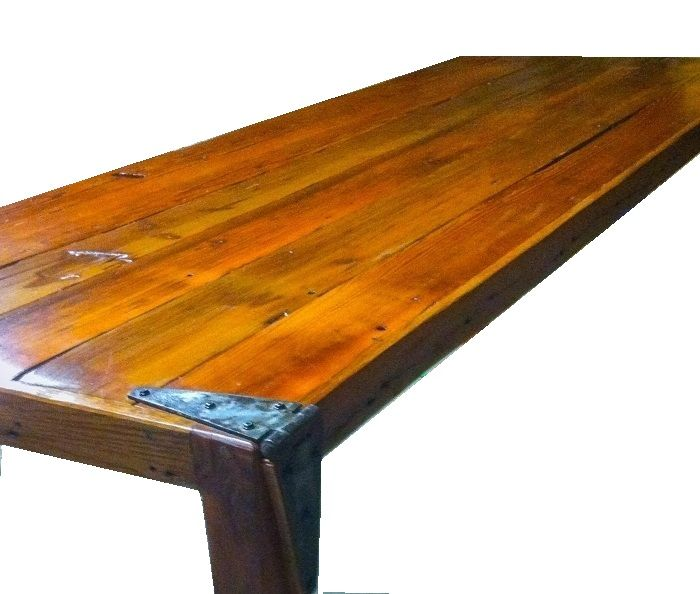 Custom Made Antique Door Table - Hand Crafted Antique Door Table By Ney: Custom Tables CustomMade.com