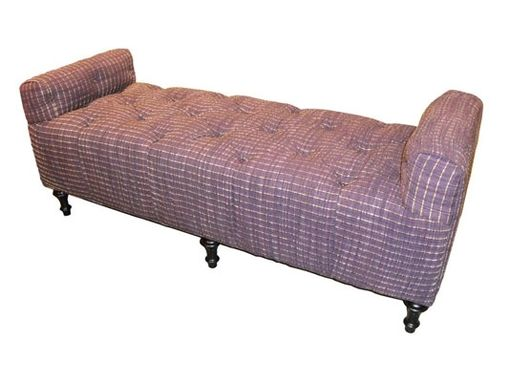 Custom Made Tufted Daybed Settee