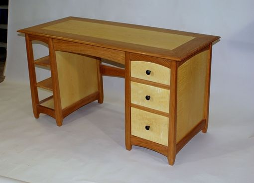 Custom Made Cherry Maple Desk