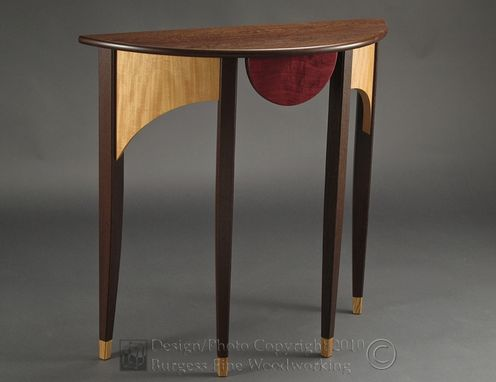 Custom Made Horizon Console Table In Wenge