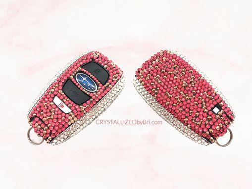 Custom Made Crystallized Car Key Bling Bedazzled Made With Swarovski Crystals Lexus Vw Mercedes Bmw