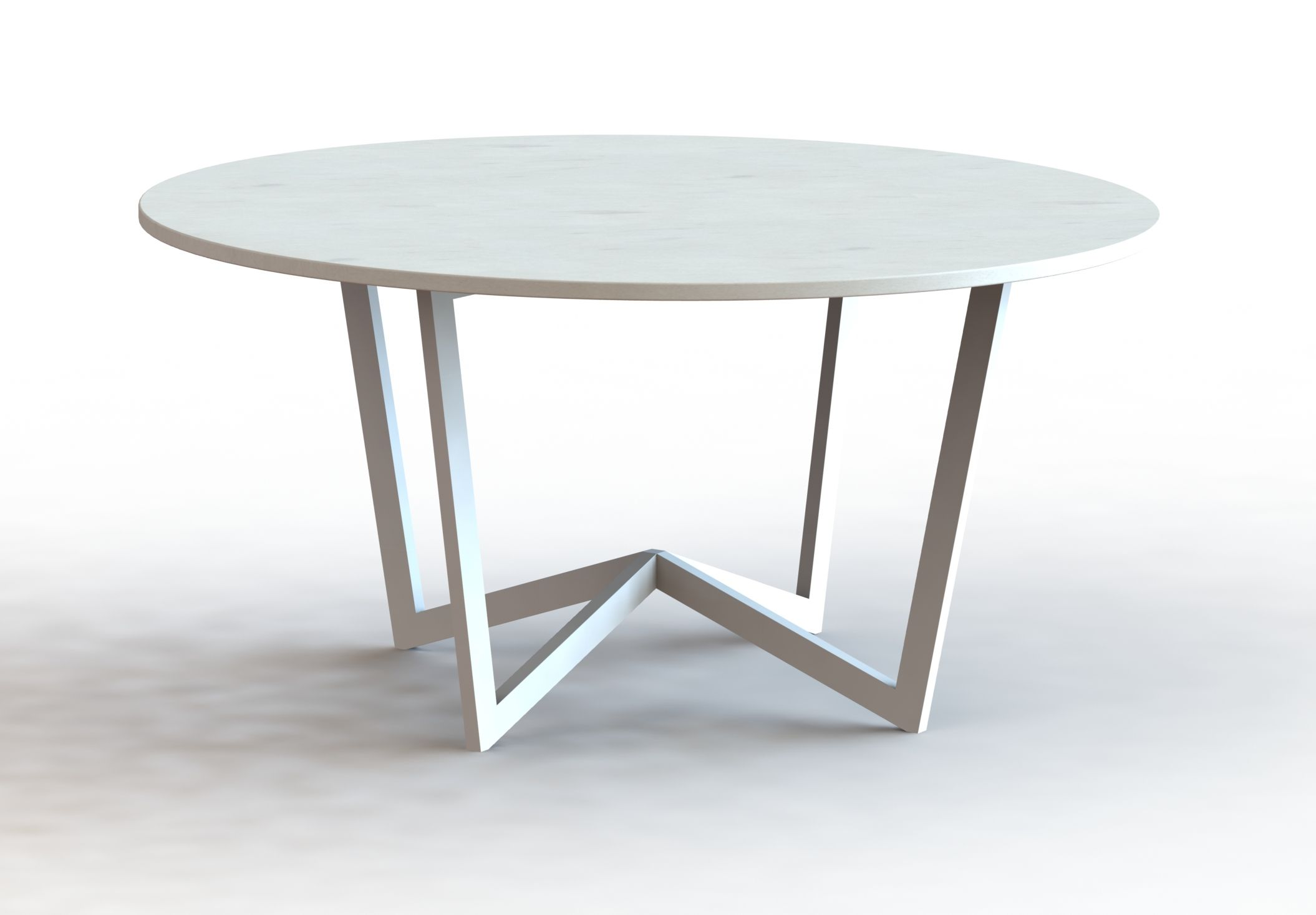 Custom Metal Table Base by Urban Ironcraft