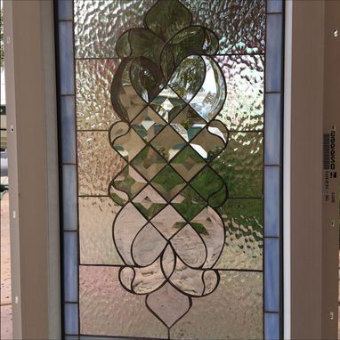 Custom Made Beatiful Laguna Beveled Stained Glass Window