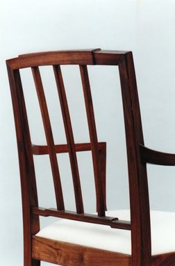 Custom Made Walnut Dining Chair